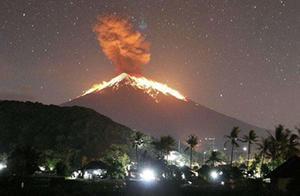 巴厘岛火山又喷发了!多趟航班取消