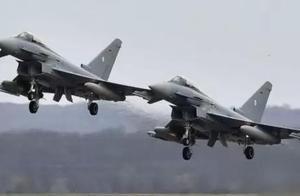 两架台风战斗机相撞坠毁!德国最先进战机瞬间损失一半……