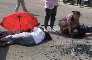 江苏发生惨烈车祸,奥迪试驾车与拖花圈三轮车相撞,致2人死亡4人受伤