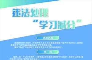 """简阳市驾驶人可在手机上实现""""学习减分"""""""