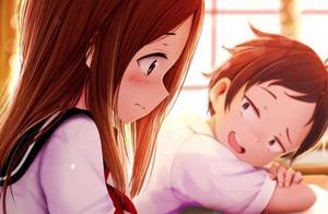 《擅长捉弄人的高木同学2》最美好的恋爱莫过于,你在闹,她在笑