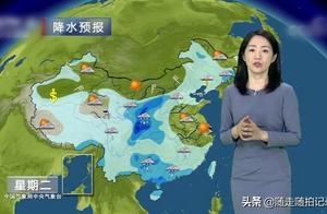 6月4日下午1点中央气象台:今天夜间开始安徽 湖北迎暴雨 大暴雨