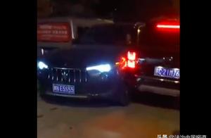 河南永城玛莎拉蒂女司机醉驾逃逸后追尾宝马 致2死4伤