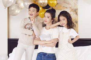 46岁李冰冰没结婚生娃却喜欢晒李雪儿女,孩子遗传家族美眼颜值高