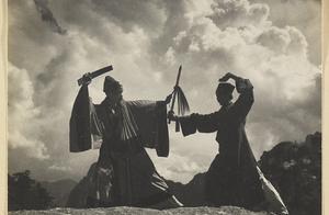 民国时代的华山,道观众多,道教的仪式像极了华山论剑