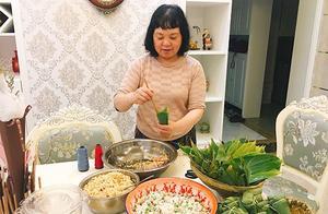 广元这位妈妈每年自己包粽子、青团,手艺传给儿子儿媳