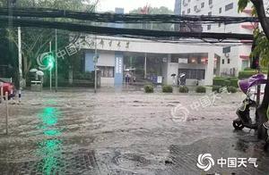注意:重庆25区县遭遇暴雨 主城已发布天气警报!