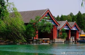 颐和园内有一处容易被忽略的建筑,为了停放龙舟而建造的大船坞