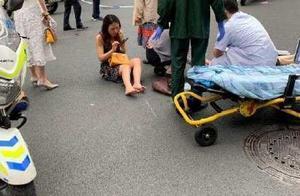 最新通报!广州林和中路附近一豪车闯红灯撞倒行人!视频曝光