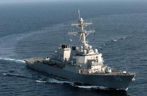 美军称两艘美国军舰再次穿越台湾海峡