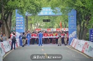 """老外爱来海宁赛跑!追潮马拉松""""迈""""出中国"""