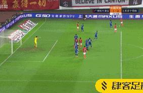 杨立瑜传中直取后点,郜林铲射获赛季中超首球
