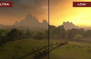 《全面战争:三国》高低画质对比视频 看看有何不同
