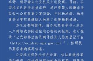 涉嫌非法吸收公众存款 卓达集团实控人向石家庄警方投案
