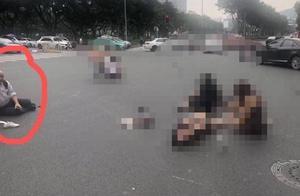 香港官员广州车祸现场被指碰瓷:真受伤了