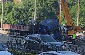 北京西三环苏州桥发生交通事故 目前道路已恢复通行