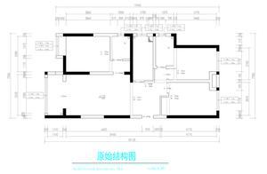 130㎡三室两厅新中式丨无处不山水,无处不中国