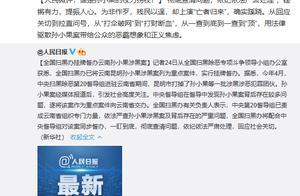 人民日报发文评孙小果案:谁是孙小果的权力拐杖?
