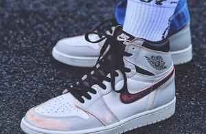 晒鞋 | Nike上海限定如云般变化!AJ1 倒钩热潮不减