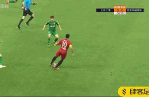 上港2-1国安,奥斯卡传射终结对手十连胜