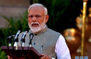 莫迪宣誓就任印度新政府总理