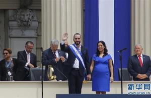 布克莱宣誓就任萨尔瓦多总统