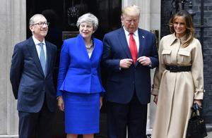 因支持鲍里斯替代梅姨,特朗普会晤特蕾莎-梅时难掩尴尬