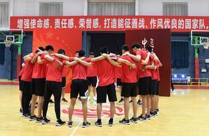 篮球——2019年篮球世界杯中国男篮集训队入队仪式在京举行