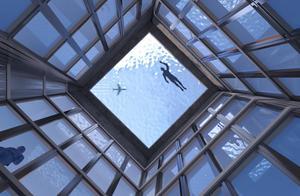 世界上第一个360度无边泳池将位于伦敦55层高的塔楼之上