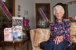 英国最年长老人去世 享年112岁