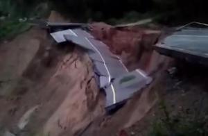 福建暴雨致山体滑坡,交通电力设施受损
