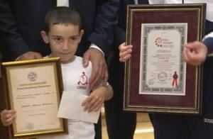 6岁男童赢一套房什么情况 一口气做4445个俯卧撑破两项世界纪录