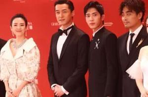 上海电影节:舒淇和鹿晗同框,两人对着镜头做搞怪表情,太可爱