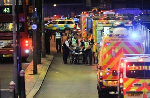 英国伦敦连续5起暴力伤人事件致3死3伤 14人被捕