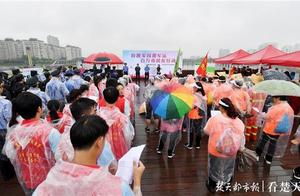 武汉洪山区:大学生和市民携手城管,不让一桶餐厨垃圾倒进南湖