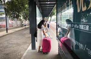 绵阳汽车总站公交站台停用,市民称不方便,公交公司回应