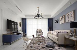 16万块钱装修的98平米的房子,美式风格简直太美了!-中海珑湾装修