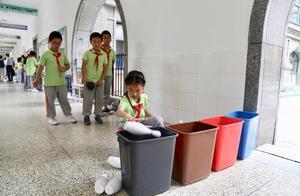 身在上海的你不知垃圾该怎么分类?分类起步阶段遇难题这样做