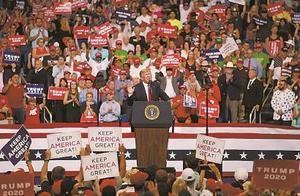 """特朗普宣布竞选连任,他将靠什么""""再来四年"""""""