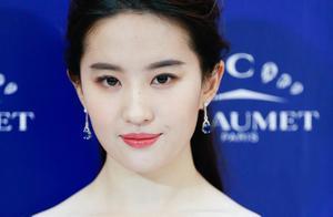 刘亦菲虎扑女神夺冠,高圆圆四连亚,可甜可盐气质美女直男爱