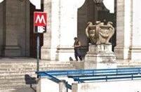 8个月!罗马Repubblica站终于开了!但坏的电梯还是坏的