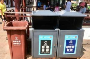 七宝古镇景区增设湿垃圾桶,帮游客做好分类