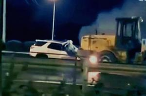 不救人司机被刑拘 北京南四环车祸视频曝光引热议!铲车司机拒绝挪车2死最新消息