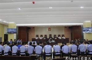 京山一恶势力集团致企业破产倒闭,13人集体受审