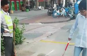 【创城,我们在路上】芝山镇金品社区增划禁停线 规范车辆停放