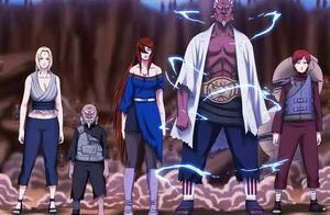 《火影忍者》中一共有六位影二代,但是最后当上影的只有三位!