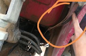 农村男子曾上手一台拖拉机,如今一踩就有异响,怎么办?