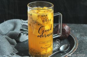 夏日自制水果饮料,不用榨汁机,5分钟就能搞定,新鲜健康