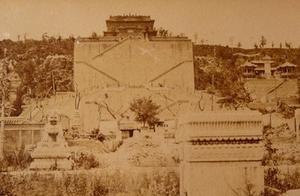 1870年的颐和园,没想到那时的皇家园林都这么破败