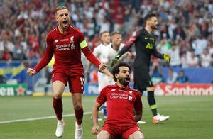 欧冠决赛-马内25秒造点萨拉赫点射 利物浦2-0热刺 第6次夺冠